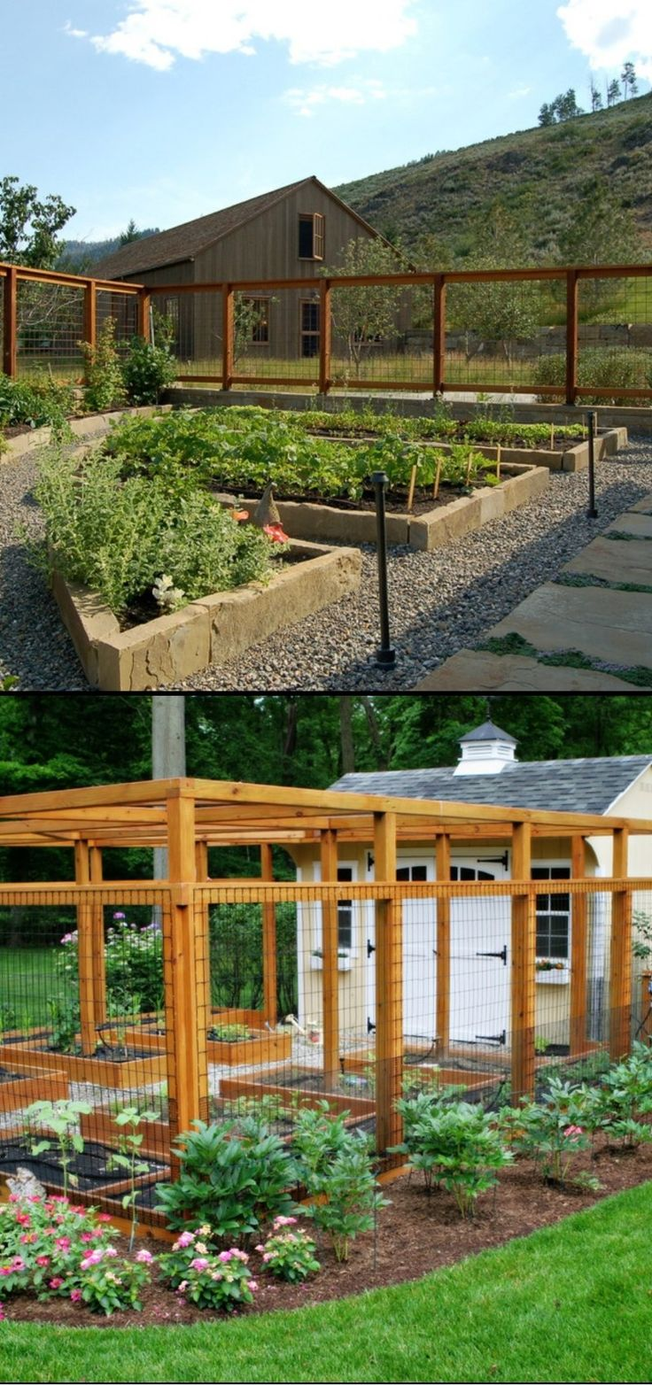 30 garden fencing ideas garden fencing ideas diy on backyard fence landscaping id=57806