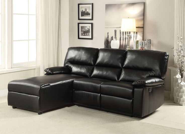 Artha Black Sectional Sofa 51555 : black and grey sectional sofa - Sectionals, Sofas & Couches