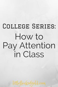 Long class period? Read one blogger's tips on how to really pay attention in class to help you make it throug.