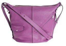 Marc Jacobs Women's Purple Leather Shoulder Bag.