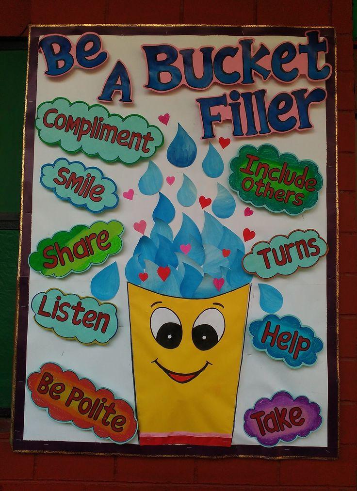 Preschool bulletin board ideas | School board decoration ...