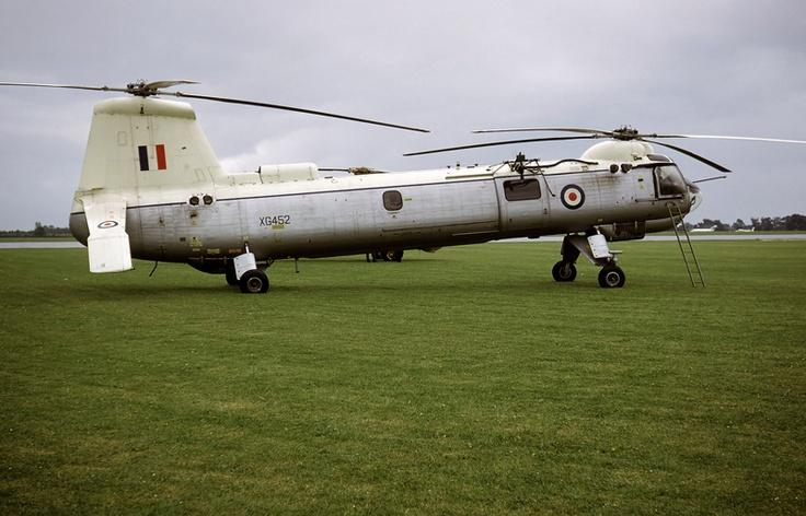 Belvedere HC.1 XG452 at Cranfield in June 1966