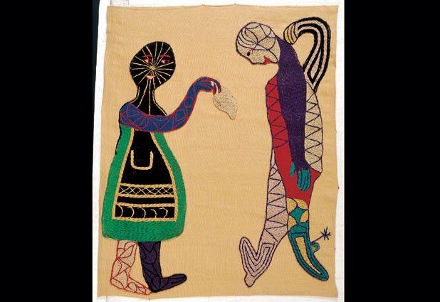 Violeta Parra, sus arpilleras y pinturas