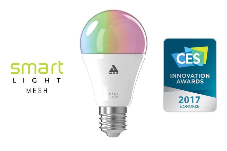 CES Las Vegas 2017 - SmartLIGHT mesh - Innovation Award - AwoX