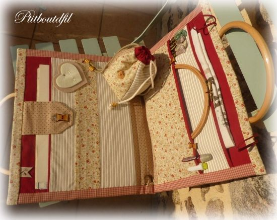 tutorial - I very much want to make this needlework kit - oh so pretty!
