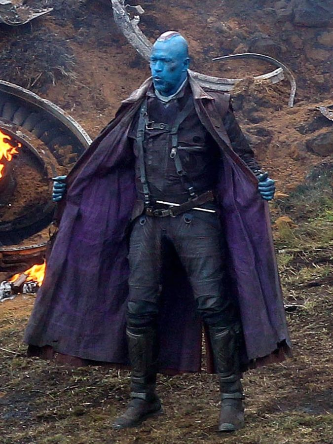 Yondu Udonta - his character in Guardians of the Galaxy was one of my most favourite makeups to date. The use of special FX to create the piece on his head and the teeth really inspired me to push the boat out and create original ideas. His overall character styling and props really helped to portray his key character traits.