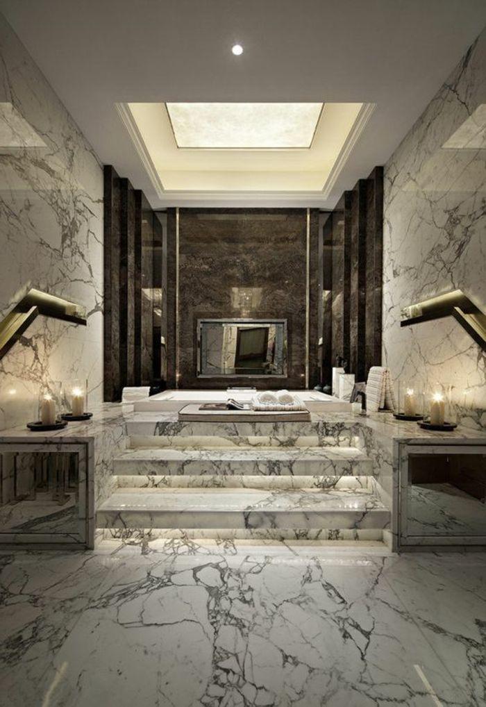1001 id es pour cr er une salle de bain nature sol en marbre salles de bains luxueuses et. Black Bedroom Furniture Sets. Home Design Ideas