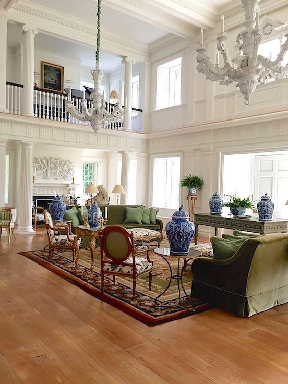 Safe Room Design: Tabulous Design: Carolyne Roehm's Safe Haven