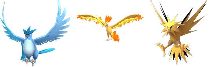 Articuno, Zapdos, Moltres Officially Arrive In 'Pokémon GO' - http://www.movienewsguide.com/articuno-zapdos-moltres-officially-arrive-pokemon-go/246000