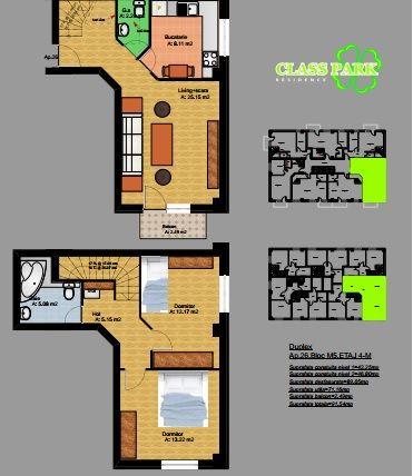 Schita celor 2 etaje