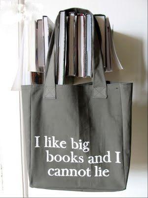 that book you got makes me so brainyDiy Fashion, Totes Tutorials, Libraries Book, Gift Ideas, Diy Gift, Totes Bags, English Teachers, Diy Quotes Book, Big Book