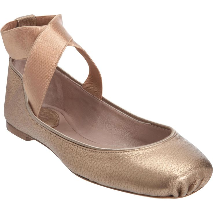 Chloe Flats That Look Like Pointe Shoes