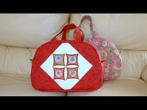 ▶ Patchwork Maria Adna - Carteira em tecido importado - Bolsa carteira em tecido - Carteiras tecido - YouTube
