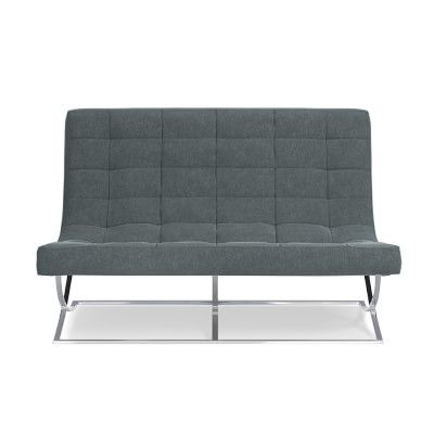 James Loveseat, Mohair, Solid, Dove