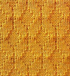 X is a simple and yet very elegant knit and purl stitch...