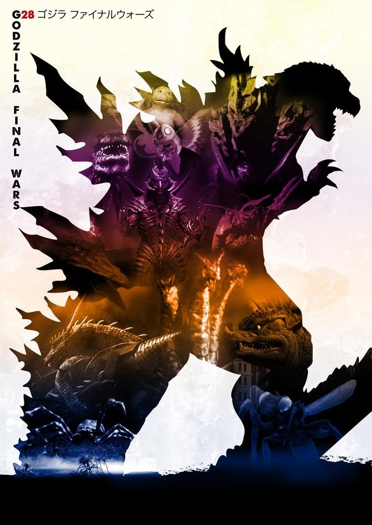 GODZILLA FINAL WARS (2004) | Godzilla | Pinterest