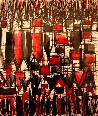 Saddlebag (1960) by Burhan Doğançay