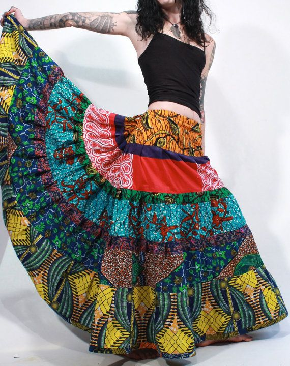 Tribes Indonesian batik patchwork tiered hand by ChopstixWaits, $ 118.00