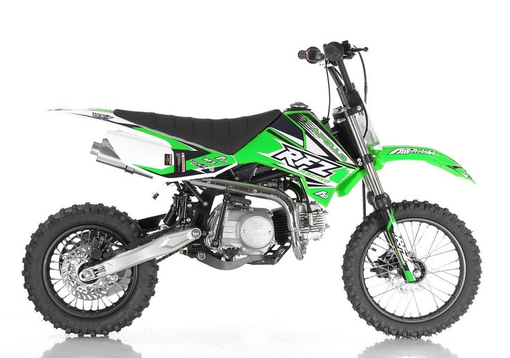 Apollo Ultramax 125cc Fully Automatic Dirt/Pit Bike - Free Shipping