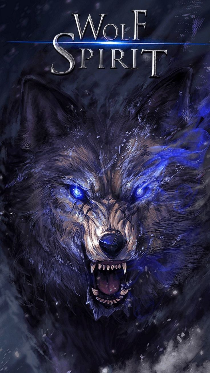 Anime Wolf Wallpapers Android   Wolf wallpaper, Wolf ...