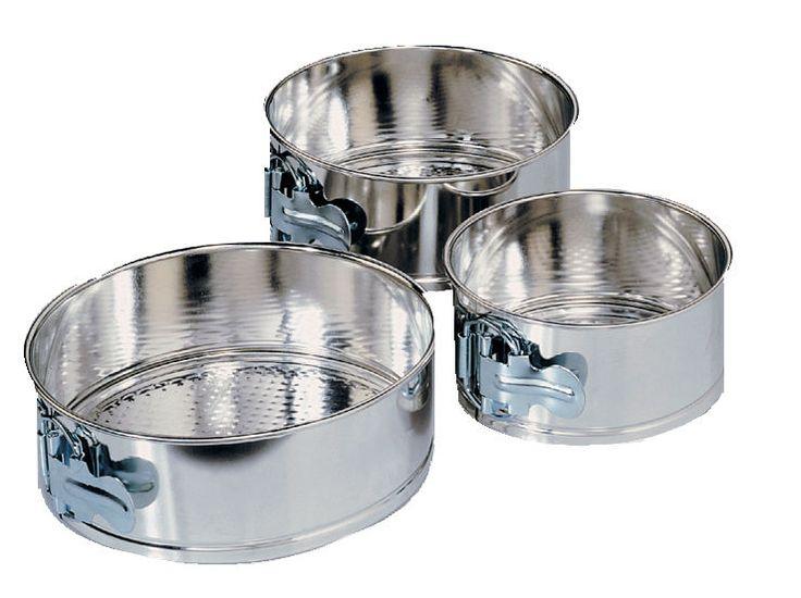 Fox Run 3 Pc Mini Springform Cake Pan Set Baking Kitchen Bakeware Cheesecake New - ebay