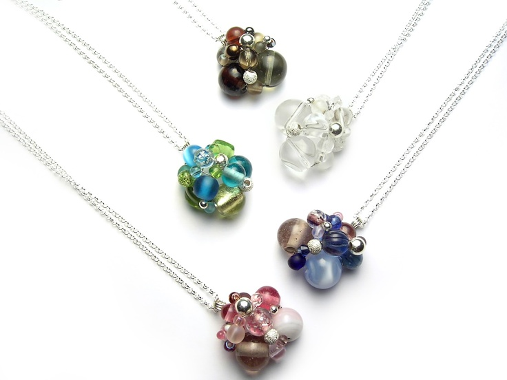 Jumble Necklaces by Amy Kovach available at ArtistsWalk in Burlington, ON