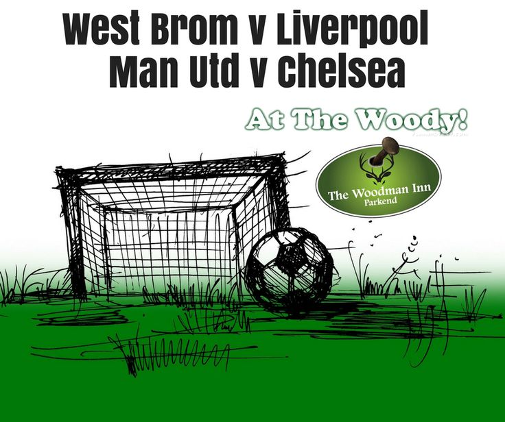 Live Footy at the Woody! West Brom v Liverpool Kick Off: 1:30pm Man Utd v Chelsea Kick Off: 4pm Come in and join us for all the action.. :-) #thewoodmaninn #forestofdean #football #easter #easterweekend #happyweekend www.thewoodmanparkend.co.uk