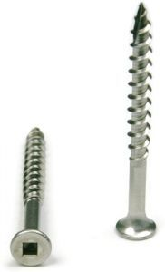 #10 Square Drive Deck Screw Type 17 Point 305 Stainless Steel