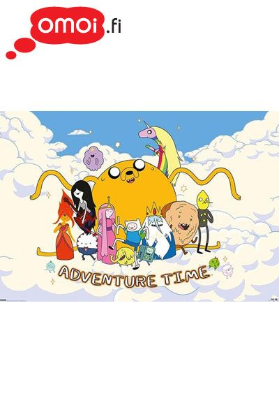 Adventure Time maxi poster (Cloud - 61cm x 91.5cm) - 5,00 EUR : Manga Shop for Europe, A great selection of anime products