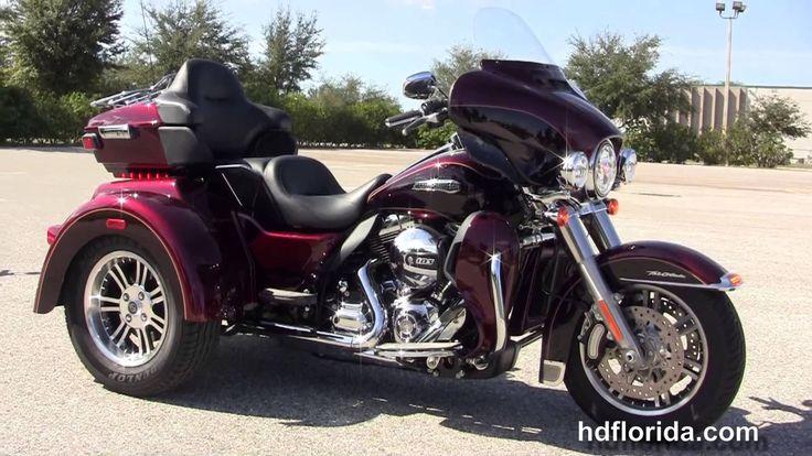 2014 Harley-Davidson Trike   Used 2014 Harley Davidson Tri Glide Trike for sale - YouTube