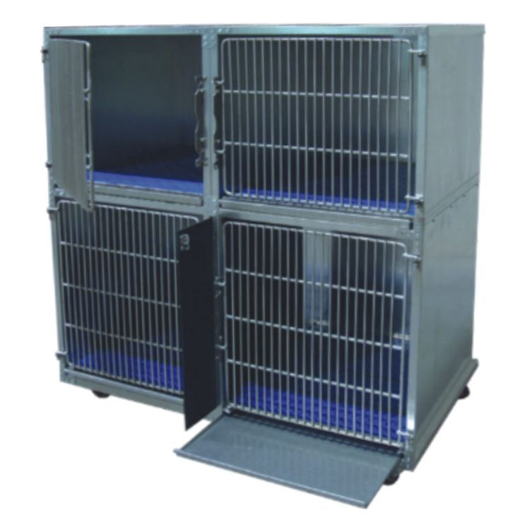 Strong Sanitary Large Small Dog Cages, Cattery Cages in Galvanized Steel ~ Could come in handy for animals that are sick