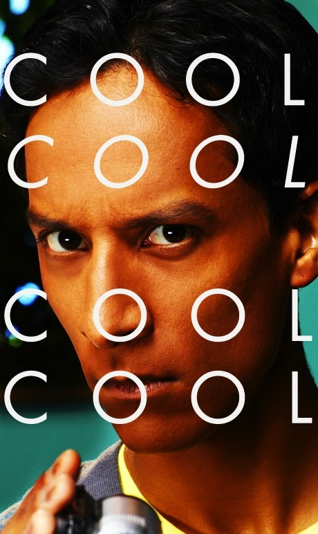 Danny Pudi - Abed. Cool. Cool, cool, cool.  Really considering this as my yearbook quote