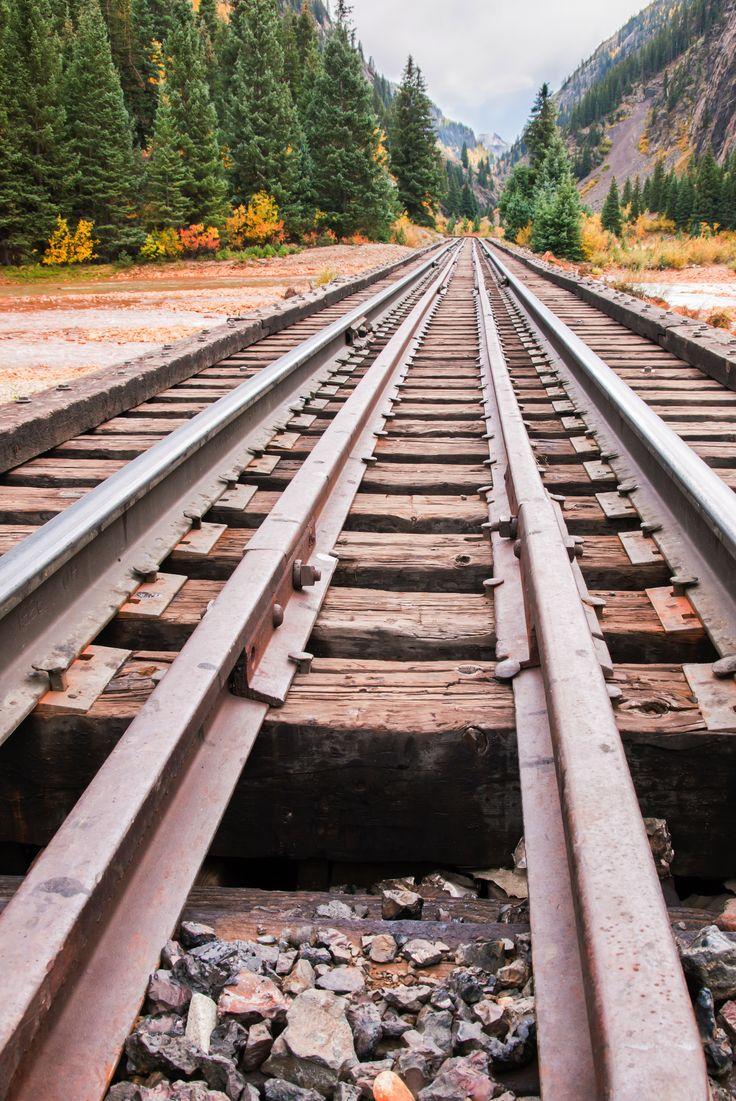 Durango and Silverton Narrow Gauge Railroad Train goes through incredible scenery!