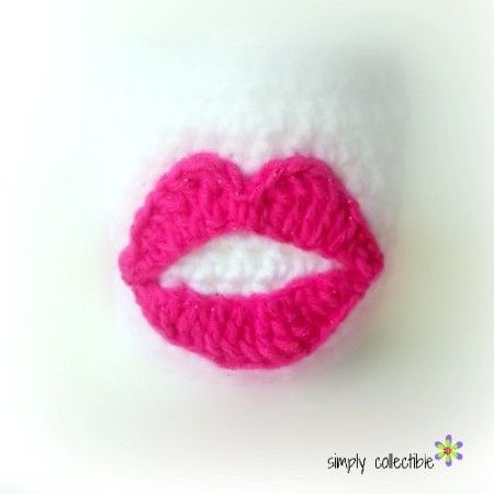 Amigurumi Lips Pattern : 17 Best images about Crochet - Eyes, nose, mouth on ...