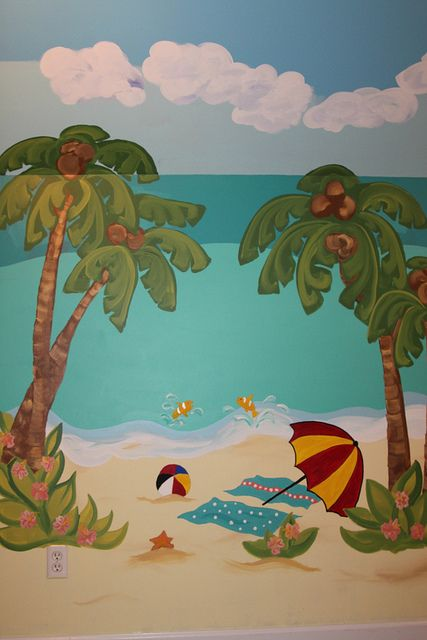 1000 ideas about beach mural on pinterest murals wall for El paradiso wall mural