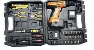 Furadeira e Parafusadeira Kit Completo#FuradeiraeParafusadeira