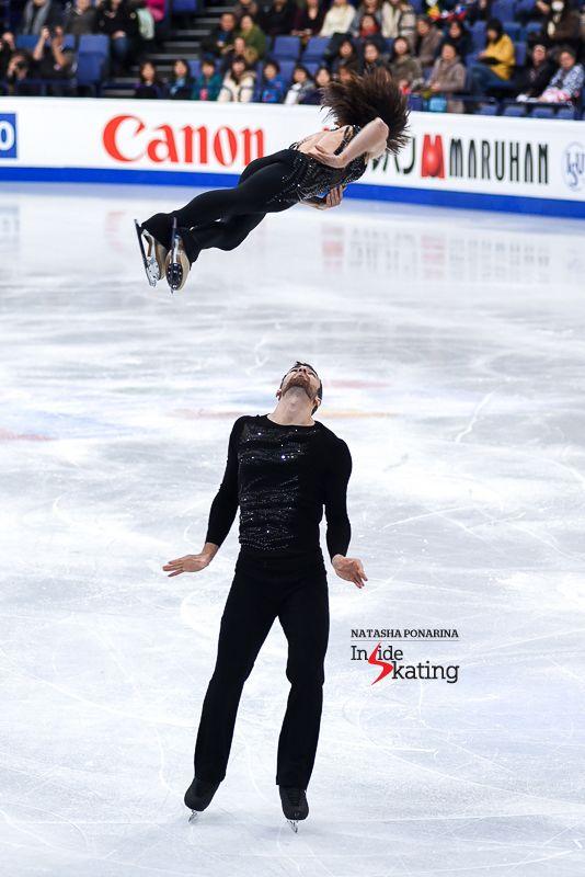 Meagan Duhamel and Eric Radford SP 2017 Worlds Helsinki (1)