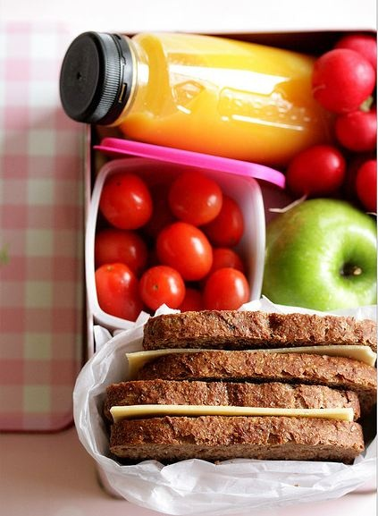 pack healthy lunches