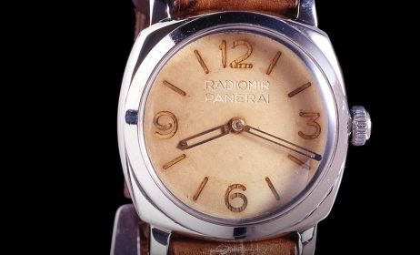 """OFFICINE PANERAI - The remarkable charisma of the 6154: the """"Small Egiziano"""" by Officine Panerai, a star of Christie's auction"""