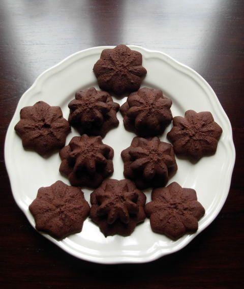 Sablés de Noël au chocolat de Christophe Felder