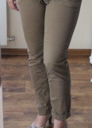 Kup mój przedmiot na #vintedpl http://www.vinted.pl/damska-odziez/chinosy/18471352-spodnie-idealne-jasny-braz-bawelniane-wiosna-lato-r-40-l-12