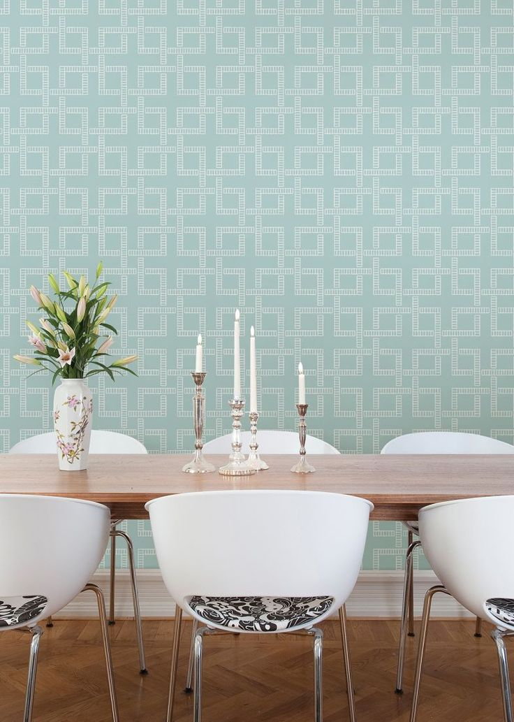 Theory By Albany   Turquoise : Wallpaper Direct