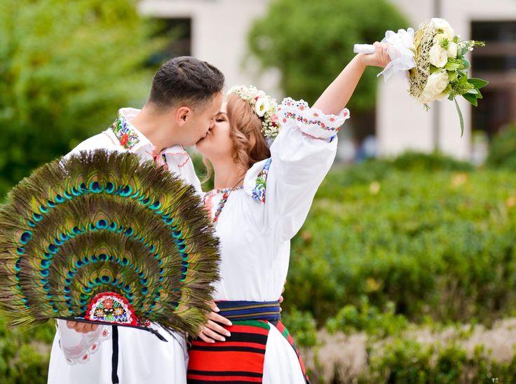 Anamaria și Andrei. Nuntă tradițională în Năsăud