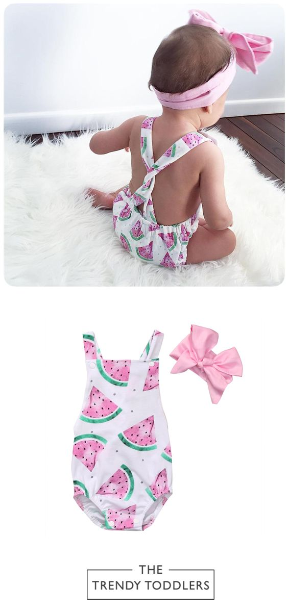 FREE SHIPPING! SHOP Our Watermelon Romper