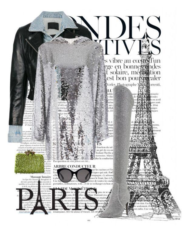 """Paris Fashion Week"" by kotnourka ❤ liked on Polyvore featuring Anja, Alexander Wang, MSGM, Dune, Valentino, Gucci, parisfashionweek and Packandgo"