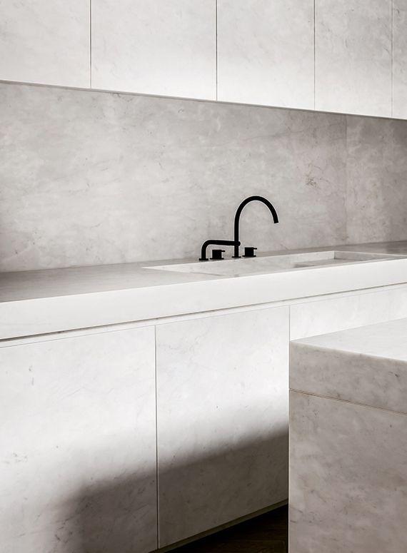 Kitchen - home in Antwerp Belgium by Nicolas Schuybroek Architects, photos: Julien Claessens / Thomas de Bruyne