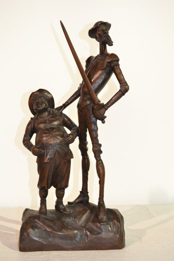 Don Quixote wood carvings - Google Search
