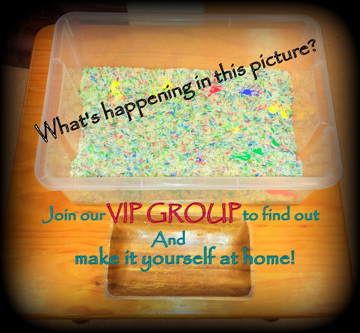 Sensory play: VIP Membership activity, so many variations you can create yourself at home! Enquire now, headstart2school@gmail.com