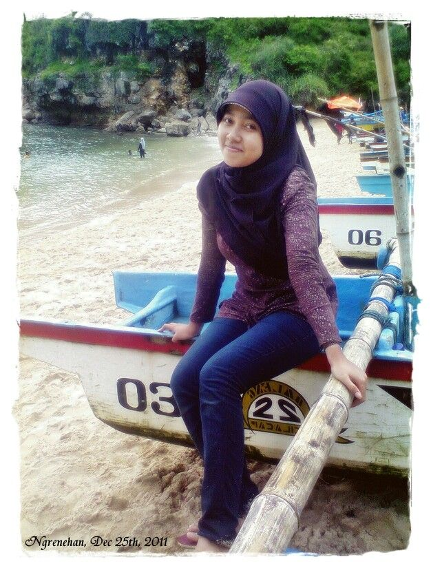 Ngrenehan beach, gunungkidul yogyakarta indonesia.