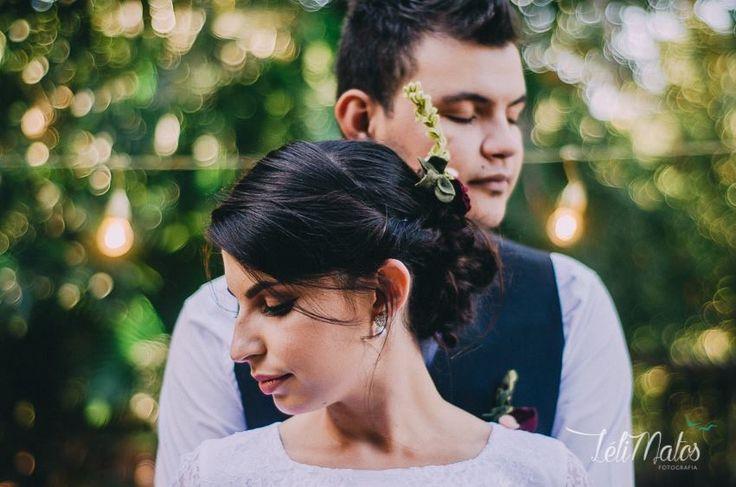 Casamento surpresa, estilo faça você mesmo. #wedding #Diy #love #feltflowers #feltbouquet #doisnosblog #lelifotografia